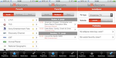 Lattelecom TV programma beidzot arī telefonā