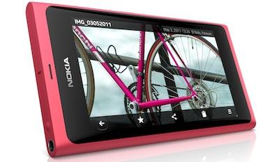 Nokia N9 ar Meego