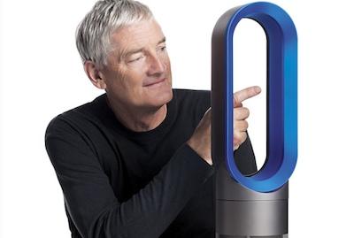 Dyson turpina stilīgo ventilatoru tēmu ar sildītājiem