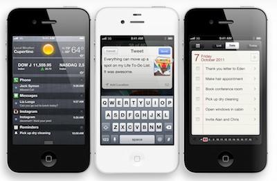 Apple prezentē iPhone 4S un citus jaunumus