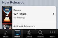 iTunes veikalā tagad pieejamas arī filmas [kaut kur mežā tup pūce ar ziedošu asti]