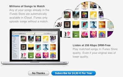 Latvijā pieejams iTunes Match mūzikas mākoņserviss