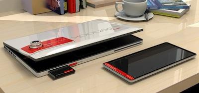 Kamera, divi ekrāni un vismaz trīs procesori - vai tāda izskatās nākotne? [fujitsu LIFEBOOK2013]