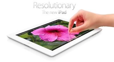 Jaunais iPad (3) un Apple TV