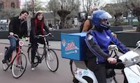 Runājošais picas motorollers