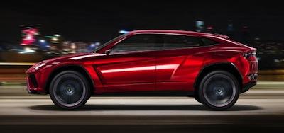 "Lamborghini gatavo ""džipu"" ar briesmīgu nosaukumu"