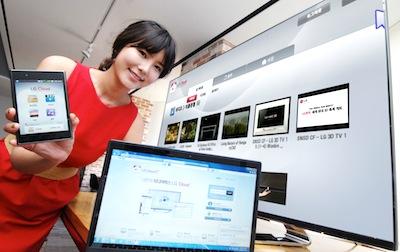 LG Electronics ievieš jaunu mākoņa servisu