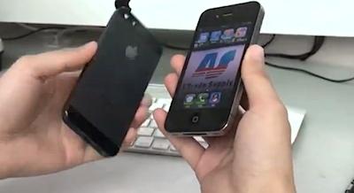 Video ar, iespējams, jaunā iPhone korpusu