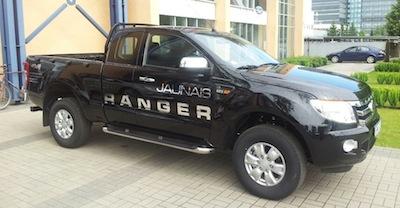 Inchcape jaunumi: Ford Ranger, virtuālais autosalons un gāze+automāts
