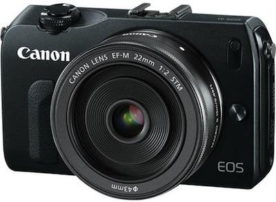 Canon EOS-M - jauna formāta bezspoguļa kamera no Canon