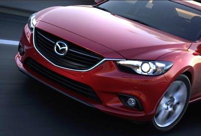 Pirmās bildītes ar jauno Mazda 6