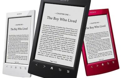 Atjaunots Sony e-reader