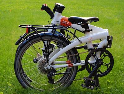 Tests: saliekamais velosipēds Tern Link D8