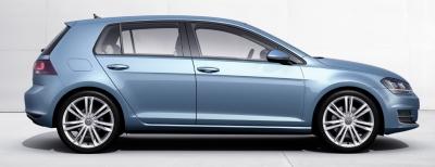 VW izrāda Golf 7, visi neir pārsteigti