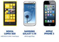Nokia lien starpā Apple un Samsung ķīviņā - mērās ar kartēm