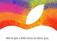 iPad mini tuvojas, prezentācija 23. oktobrī