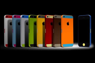 Krāsaini iPhone 5