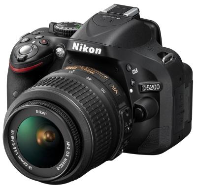 Nikon piedāvā jaunu spoguļkameru entuziastiem - D5200 ar WiFi iespēju