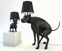 Stāvlampa (sēžlampa?) suņu mīļotājiem