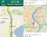 Mocības ir galā - klāt Google kartes aifoniem