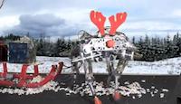 Priecīgus Ziemassvētkus novēl roboti
