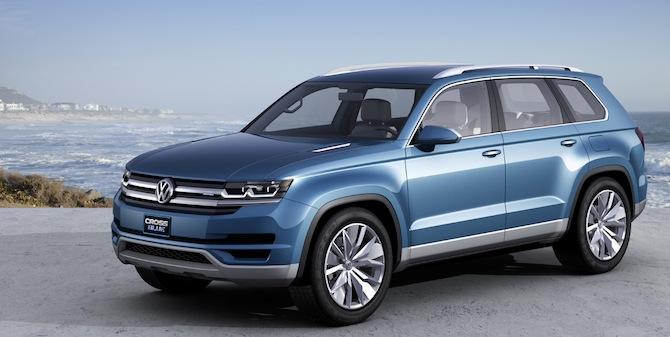Volkswagen gatavo milzīgu krosoveru milzīgai ģimenei