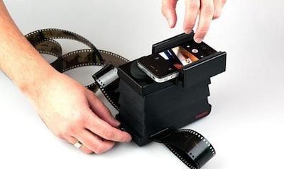 Lomography radījuši filmiņu skeneri viedtālruņiem