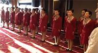 Komandas stiprināšanas pasākums Ķīnas stilā