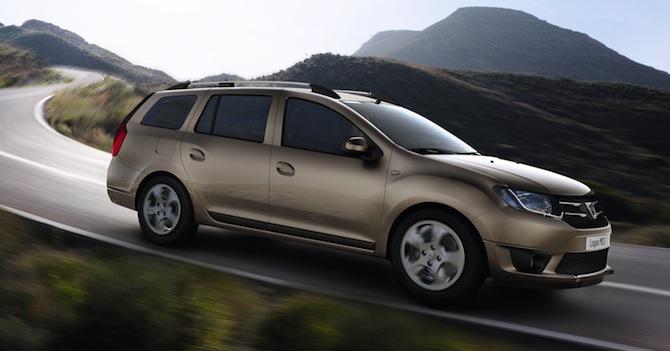 Labas ziņas! Jaunais Dacia Logan MCV