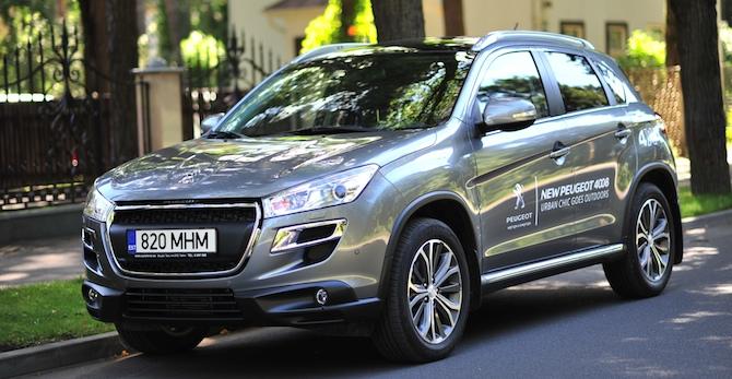 Tests: Peugeot 4008