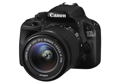 Canon jaunumi - vismazākā spoguļkamera 100D (un 700D)