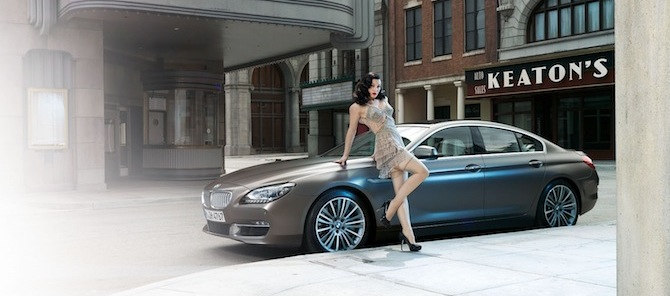 Burleska BMW stilā