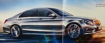 Re, kā izskatīsies jaunā Mercedes S klase