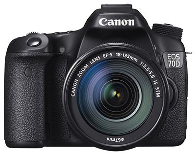 Prezentē jaunu spoguļkameru - Canon EOS 70D