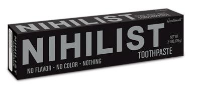 Zobu pasta nihilistiem
