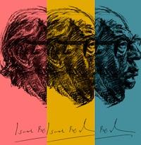 Turpinās rīdziniekam, filozofam Jesajam Berlinam veltītais pastkaršu dizaina konkurss