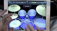 Skaties (un klausies) iPad bungu priekšnesumu