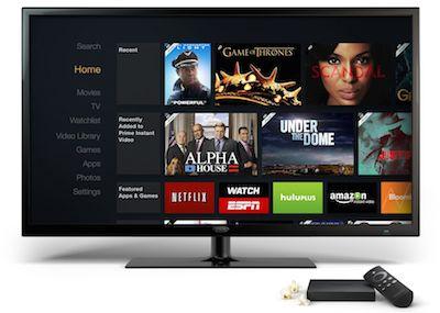 Amazon laiž klajā Fire TV - video straumēšanas un spēļu iekārtu