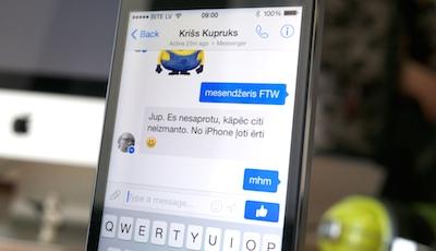 Facebook mesendžeris tagad visiem ļauj arī sazvanīties