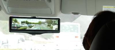 Nissan izgudro atpakaļskata spoguli