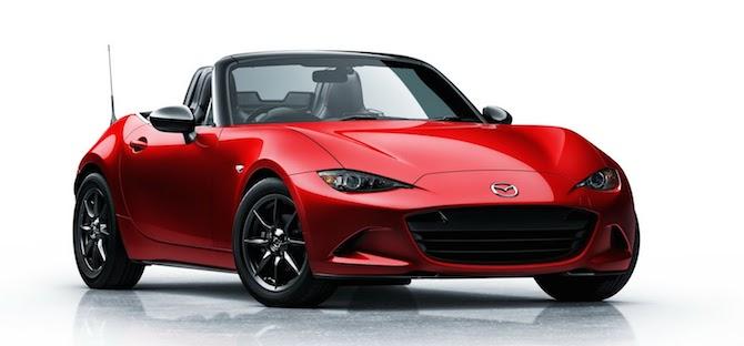 Klāt jaunais Mazda MX-5 modelis