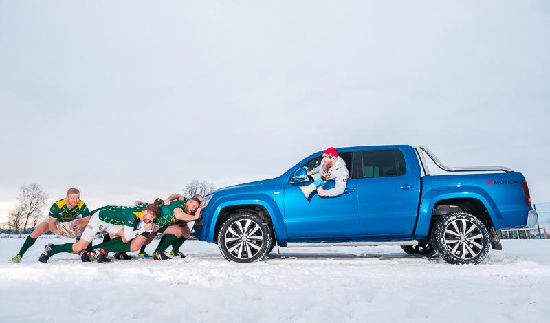 Tests: Volkswagen Amarok V6 - pirmie iespaidi