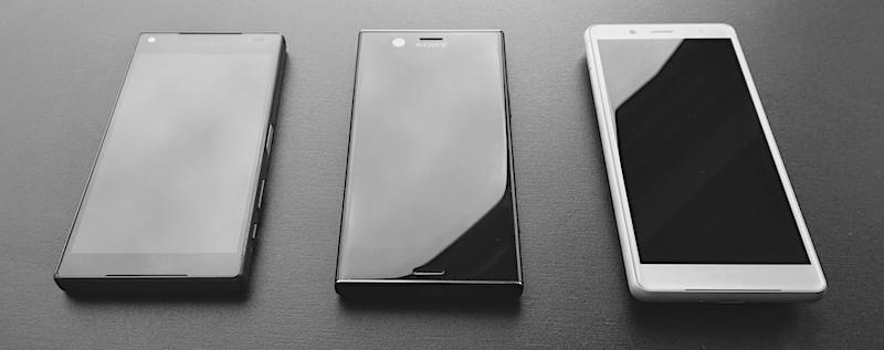 Trīs lietas, labas lietas jeb Sony Xperia Compacti