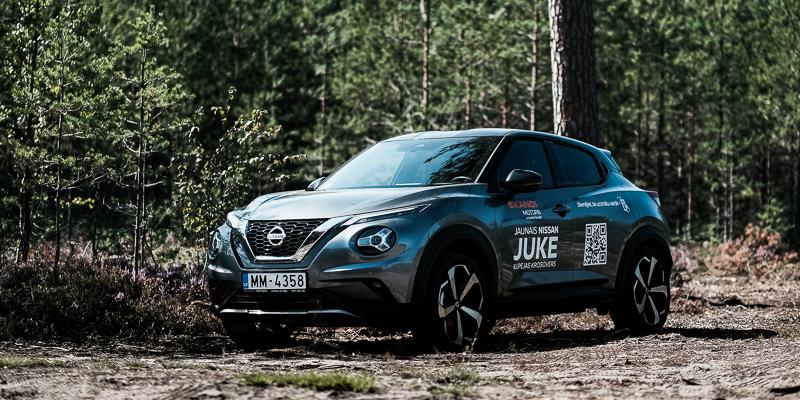 Nissan Juke 2020 - vēl vairāk Džūks