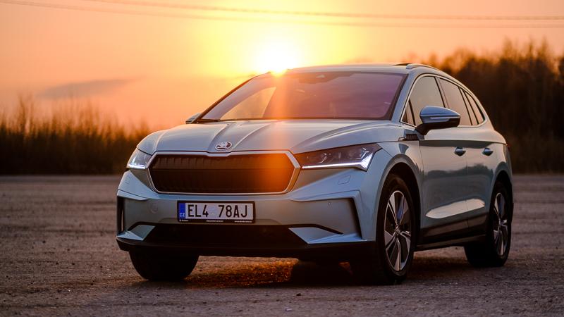 Brīnišķīgs, tikai nenormāli dārgs - Škoda Enyaq elektromobilis