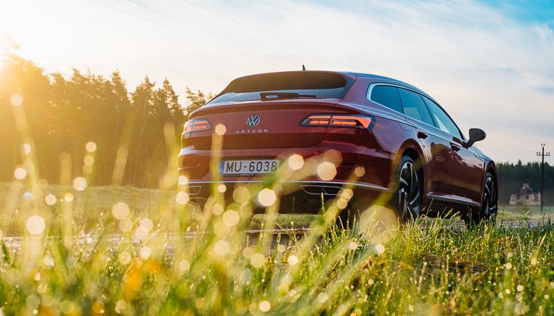 Negaidīti feins - VW Arteon Shooting Brake 2021